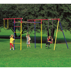 Reasons To Buy The Kids A Jungle Gym EBay - Backyard jungle gyms