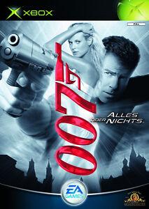 XBOX Spiel 007 Alles oder Nichts James Bond ohne  Anleitung guter Zustand + OVP