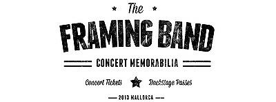 TheFramingBand Concert Memorabilia