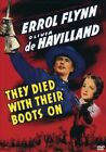 They Died With Their Boots On (DVD, 2005)
