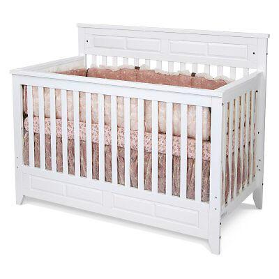 Baby Cache Heritage Lifetime Convertible Crib Espresso