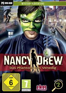 Nancy Drew Das Phantom von Venedig Mystery Adventureb PC DVD Neu - Dürnberg, Deutschland - Nancy Drew Das Phantom von Venedig Mystery Adventureb PC DVD Neu - Dürnberg, Deutschland