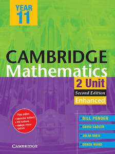 Cambridge Mathematics 4 Unit Pdf