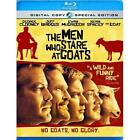 The Men Who Stare at Goats (Blu-ray Disc, 2010, 2-Disc Set, Includes Digital Copy) (Blu-ray Disc, 2010)