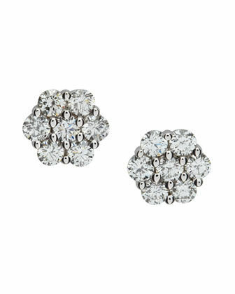 Diamond Cluster Earrings Buying Guide