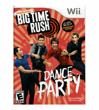 WII BIG TIME RUSH DANCE PARTY BRAND NEW VIDEO GAME