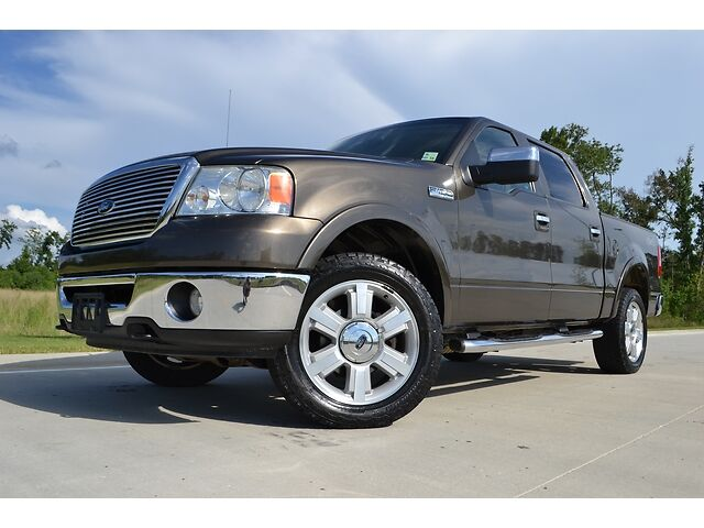 2008 ford f 150 supercrew lariat 4x4 20 wheels used ford f 150 for sale in baton rouge. Black Bedroom Furniture Sets. Home Design Ideas
