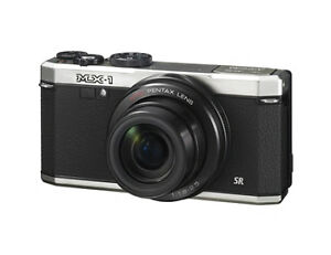 Pentax MX-1 12.0 MP Digital Camera - Sil...