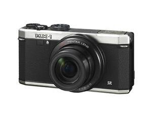 Pentax MX-1 12.0 MP Digital Camera - Sil...