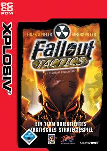 PC Spiel Fallout Tactics taktisches Strategiespiel CD-Rom neu & OVP!