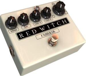 Red Witch Famulus Guitar Effect Pedal