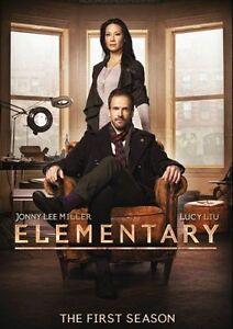 Elementary-The-First-Season-Free-Shipping-DVD-2013-6-Disc-Set