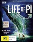 Life of Pi 3D Blu-ray Discs