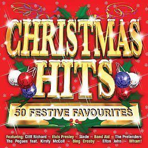 Various-Artists-Christmas-Hits-50-Festive-Favourites-2003-DOUBLE-CD-ALBUM