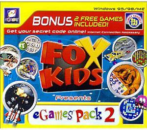 Fox Kids: eGames Fun Pack 2 (Microsoft Windows)