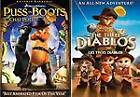 Puss in Boots (DVD, 2012, Canadian; Double Pack Side-by-Side)