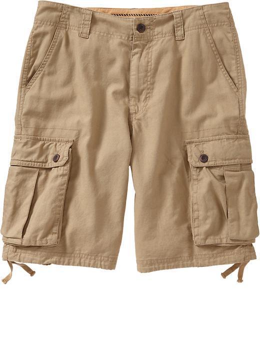 Slowear Incotex Cotton and Linen Blend Cargo Shorts