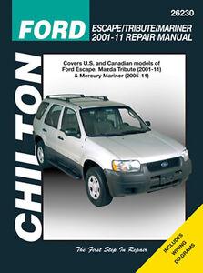 ford escape manual ebay