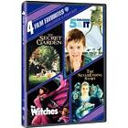 4 Film Favorites: Children's Fantasy (DVD, 2007, 2-Disc Set)