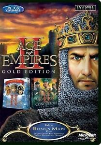 Age of Empires 2 Gold Edition PC NEW and Sealed Age of Empires II Gold Original - <span itemprop='availableAtOrFrom'>Louth, United Kingdom</span> - Age of Empires 2 Gold Edition PC NEW and Sealed Age of Empires II Gold Original - Louth, United Kingdom