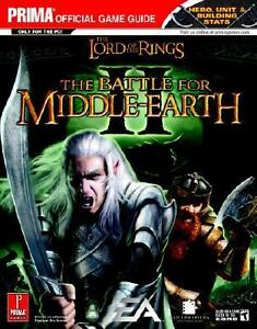 Lord-of-the-Rings-Battle-for-Middle-Earth-II-Prima-Strategy-Guide-New