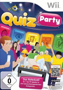 Quiz Party (Nintendo Wii, 2012, DVD-Box) - <span itemprop=availableAtOrFrom>Marburg, Deutschland</span> - Quiz Party (Nintendo Wii, 2012, DVD-Box) - Marburg, Deutschland