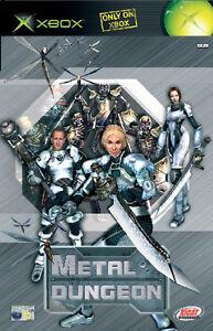 XBOX Spiel Metal Dungeon mit Anleitung guter Zustand + OVP