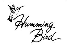 Humming Bird Home Gift and Vintage