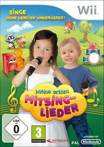 Meine ersten Mitsing-Lieder (Nintendo Wii, 2010, DVD-Box)