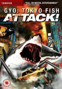GYO : Tokyo Fish Attack DVD - Anime - New & Sealed Cello Slighty Opened