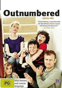 Outnumbered : Series 2 (DVD, 2010, 2-Disc Set) Brand New & Sealed Region 4