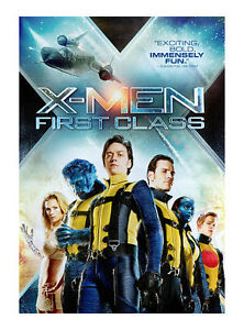 X-Men - First Class DVD James McAvoy - Michael Fassbender - Region 4 -