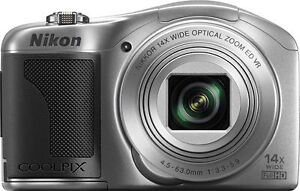 Nikon-Coolpix-L610-Digital-Camera-silver-14x-ZOOM-ag-US-NK580S