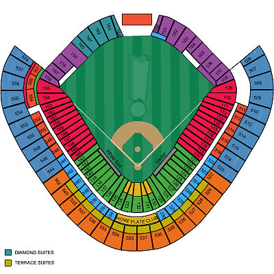 2-Chicago-White-Sox-vs-Arizona-Diamondbacks-5-9-Baseball-Tickets-Sec-126-Row-26