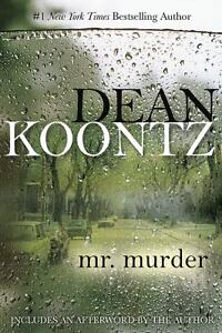 Mr-Murder-by-Dean-Koontz-1993-Hardcover-Fiction-Novel-Book