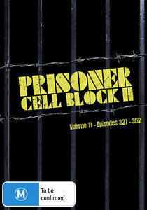 Prisoner - Cell Block H : Vol 11 : Eps 321-352 (DVD, 2013, 8-Disc Set) New Seale