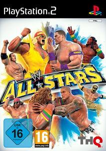 WWE All Stars (Sony PlayStation 2, 2011, DVD-Box)