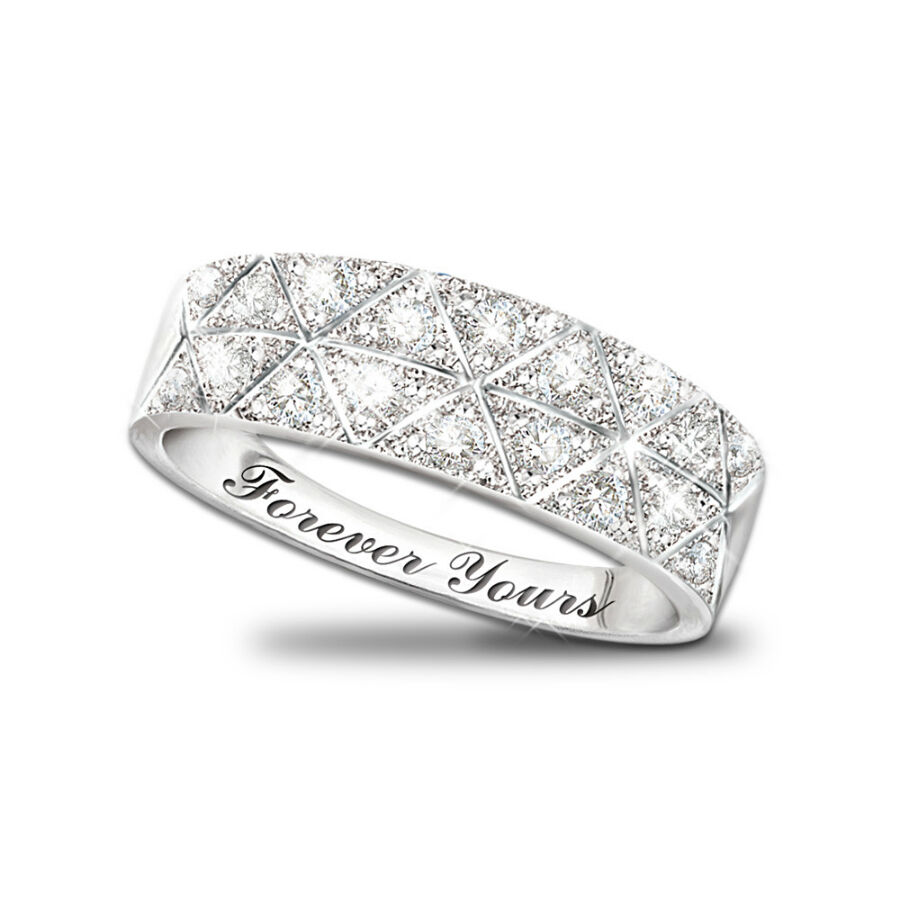Your Guide To Buying A White Gold Wedding Ring