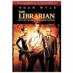 The Librarian - Return to King Solomon's Mines DVD, Bob ...