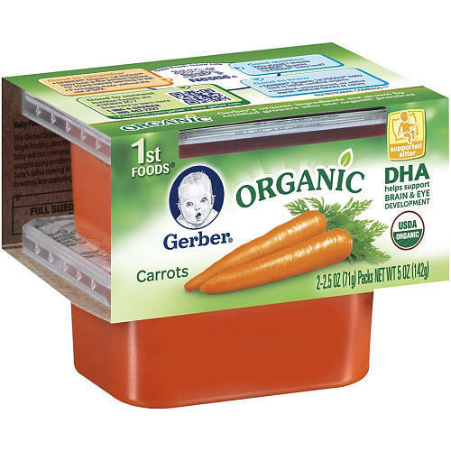 Gerber's Organic Baby Food