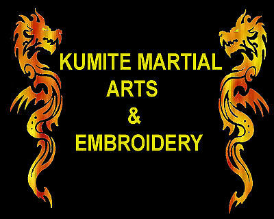 Kumite Martial Arts and Embroidery