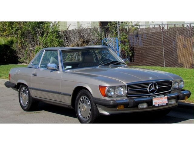 1989 mercedes benz 560sl roadster clean pre owned used for Mercedes benz pre owned vehicle locator