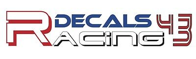 Scale Racing Models/Racing Decals