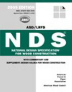 National Design Specification Nds For Wood Construction