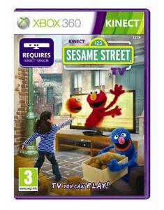 xbox 360 kinect sesame street kids game excellent condition 885370371673 ebay. Black Bedroom Furniture Sets. Home Design Ideas