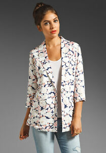 Womens Patterned Blazer