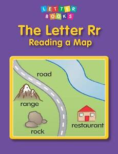 The Letter Rr: Reading a Map, Hollie J. Endres