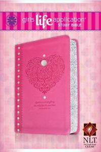 Girls Life Application Study Bible NLT, Butterfly: Tyndale ...