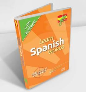 Learn Spanish Words by Lounge Lizard Publications Limited (CD-Audio, 2013) NEW