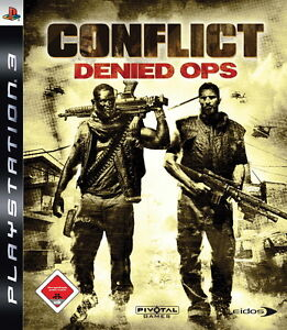 Conflict: Denied Ops (Sony PlayStation 3, 2008) - Paderborn, Deutschland - Conflict: Denied Ops (Sony PlayStation 3, 2008) - Paderborn, Deutschland